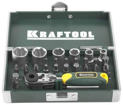 Набор бит для дрелей, шуруповертов Kraftool 26065-H26