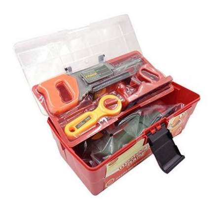 Помогаю папе. набор инструментов в чемодане pt-00216