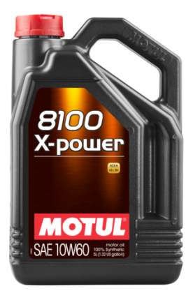 Моторное масло Motul 8100 X-Power 10w-60 5л