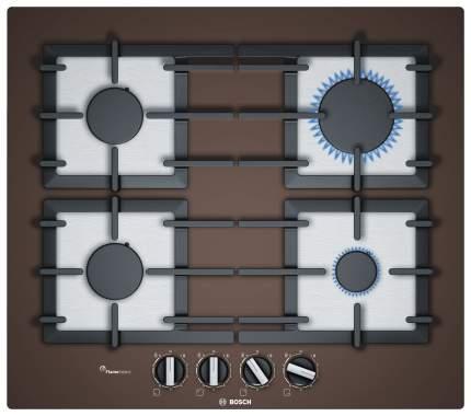 Встраиваемая варочная панель газовая Bosch PPP6A4B90R Brown