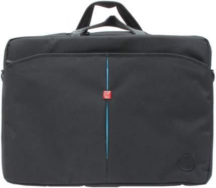 """Сумка для ноутбука 15"""" Continent СС01 Black/Blue"""