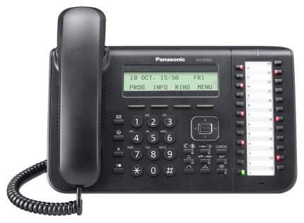 IP Телефон Panasonic KX-NT543RU-B 2xLAN LCD 24 кнопки