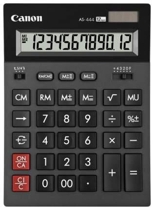 Калькулятор Canon AS-444 HB Темно-серый
