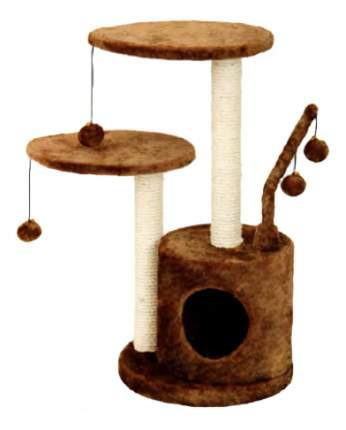 Комплекс для кошек FAUNA INTERNATIONAL STUDIO,светло-коричневый 35х35х71