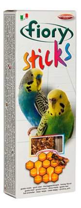 Лакомства для птиц fiory палочки для попугаев с медом, 60г