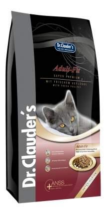 Сухой корм для кошек Dr.Clauder's Superpremium Adult Fit, курица, 2кг