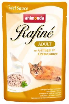 Влажный корм для кошек Animonda Rafine Soupe Adult, домашняя птица, 24шт, 100г