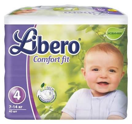 Подгузники Libero Comfort Fit Maxi (7-14 кг), 40 шт.