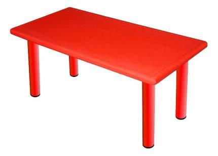 Стол KING KIDS Королевский пластиковый красный