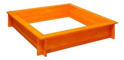 Песочница PAREMO Афина деревянная оранжевая