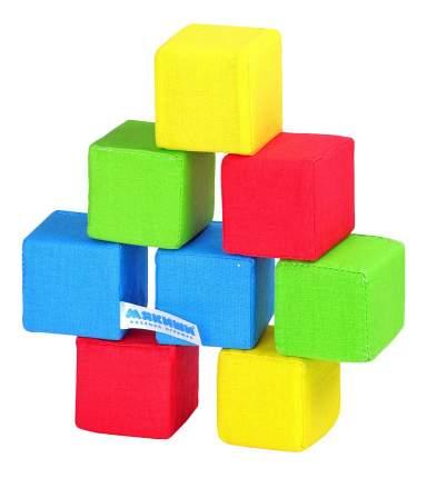 Детские кубики Мякиши 4 цвета