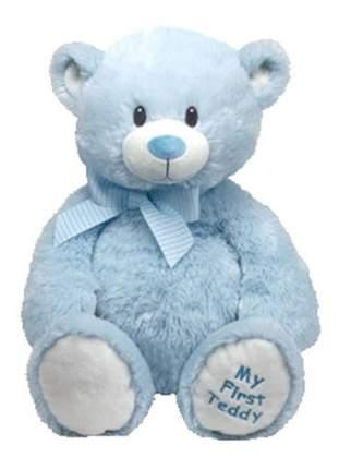 Мягкая игрушка TY Classic Медвежонок (голубой), 38 см
