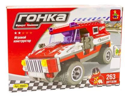 Конструктор пластиковый Ausini Гонка. Формула чемпионов бело-красный