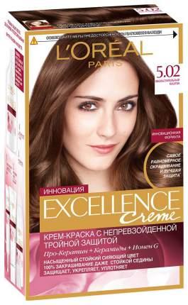 Краска для волос L'Oreal Paris Excellence тон 5,02 Обольстительный каштан