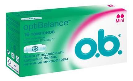 Тампоны o.b. optiBalance Мини 16шт