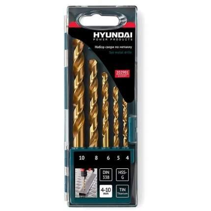 Набор сверл по металлу Hyundai 202901 5 шт