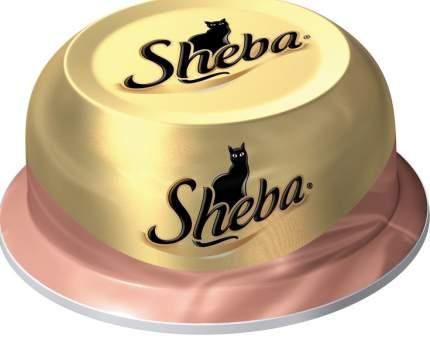 Консервы для кошек Sheba Classic мясо курицы с уткой, 12 шт по 80г