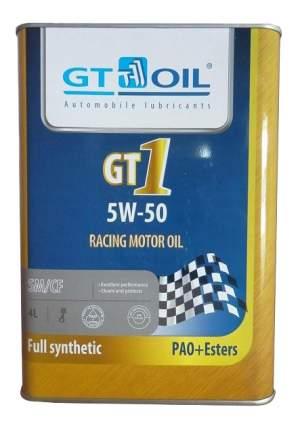 Моторное масло GT-Oil 1 5W-50 4л