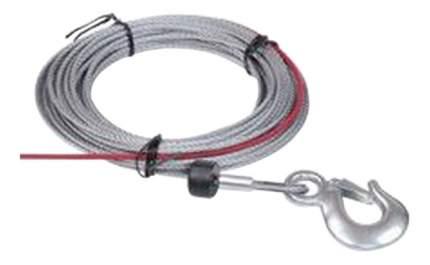 Трос для лебедки COMEUP С крюком; С ограничителем для лебедки 5.5мм 4т 881955
