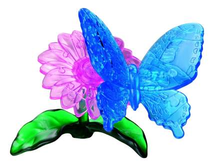 Пазлы Crystal Puzzle Бабочка голубая 90122