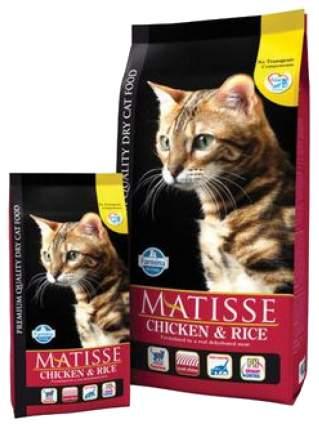 Сухой корм для кошек Farmina Matisse, курица и рис, 10кг