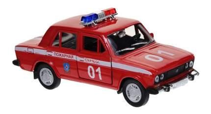 Коллекционная модель Autotime Lada 2106 Пожарная охрана 1:36