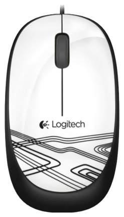 Проводная мышка Logitech M105 White/Black (910-002944)