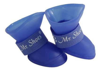 Обувь для собак Triol размер L, 2 шт синий