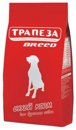 Сухой корм для собак Трапеза Breed, для средних и крупных пород, мясное ассорти, 18кг