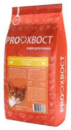 Сухой корм для кошек ProХвост, курица, 10кг