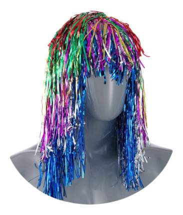 Карнавальный парик 48 см разноцветный Е50877