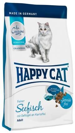 Сухой корм для кошек Happy Cat La Cuisine, морская рыба, птица и картофель, 0,3кг