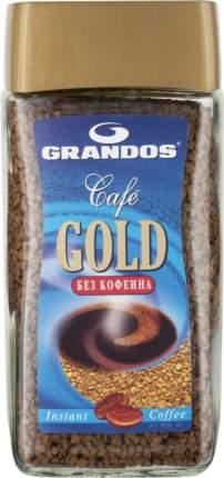 Кофе растворимый  Grandos gold без кофеина 100 г