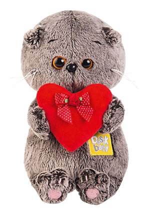 Мягкая игрушка BUDI BASA Басик Бейби с Красным Сердечком 20 см Bb 016