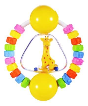 Прорезыватель-погремушка Жирафики Радужный жирафик