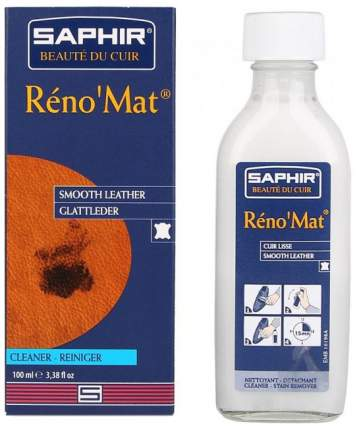 Очиститель для гладкой кожи Saphir Reno'Mat 100 мл
