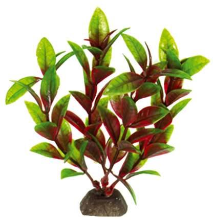 Искусственное растение для аквариума DEZZIE , зеленый, красный, пластик, 10 см