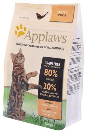 Сухой корм для кошек Applaws Беззерновой, с курицей и овощами, 0,4кг