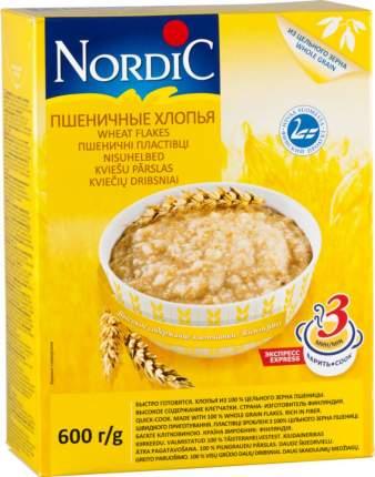 Хлопья пшеничные Nordic 600 г