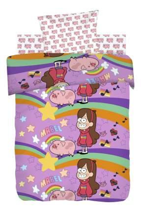 Комплект детского постельного белья Непоседа 1,5 хлопок Гравити Фолз Мэйбл и Пухля