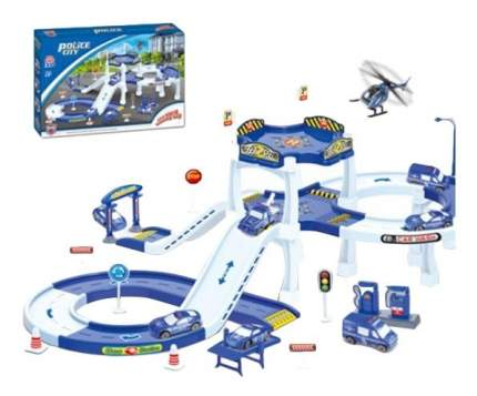 Игровой набор Полицейская Парковка Police City Gratwest Г81596