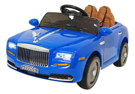 Электромобиль Rolls Royce синий RIVERTOYS