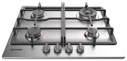 Встраиваемая варочная панель газовая Indesit THP 641 W/IX/I Silver