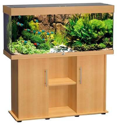 Аквариум для рыб Juwel Rio 240, влагозащитная поверхность, светлое дерево, 240 л