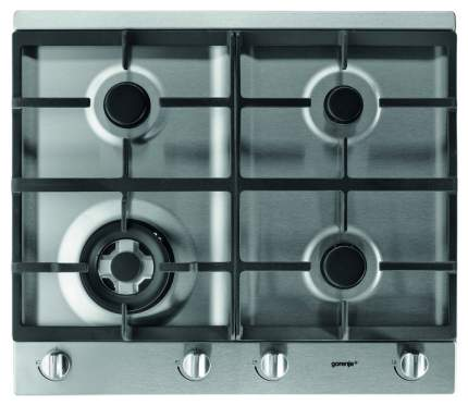 Встраиваемая варочная панель газовая Gorenje GGS64WAX Silver