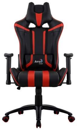 Игровое кресло AeroCool AC120 AIR, красный/черный