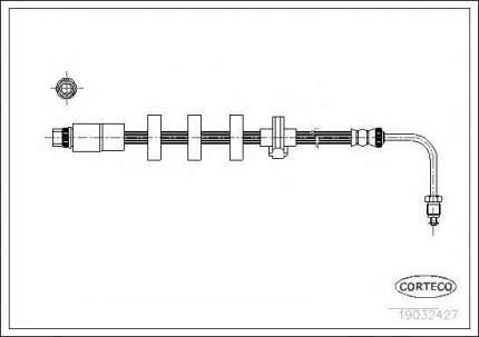 Шланг тормозной системы Corteco 19032427