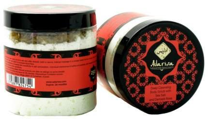 Скраб для тела Adarisa С морской солью и дамасской розой 250 г