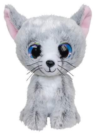 Мягкая игрушка Tactic Котёнок Katti, светло-серый, 15 см