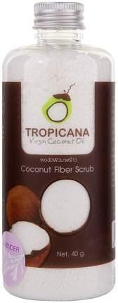 Мягкий скраб из кокосовой стружки и Лавандой Tropicana